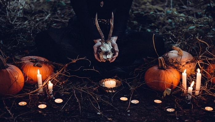 Vocabulario concerniente con las historias de Halloween en inglés.