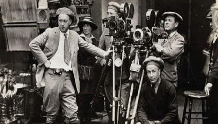 personas que trabajan en el cine