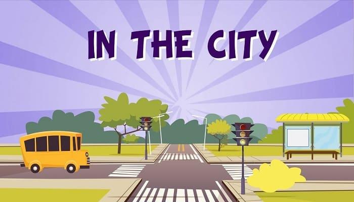 la ciudad en inglés